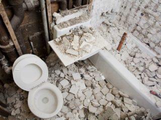 トイレのリフォーム 工事