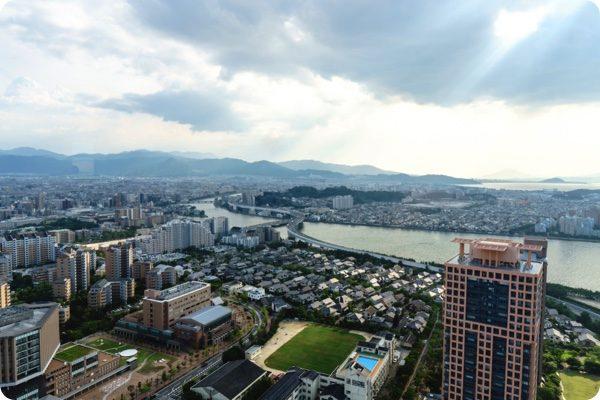 福岡市の繁華街