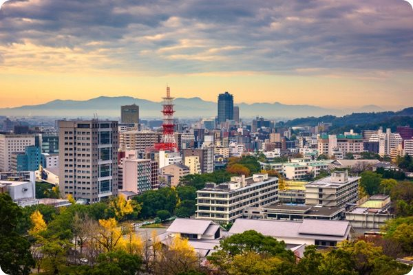 熊本市の街