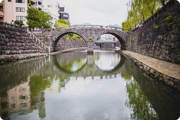 長崎市内の桟橋