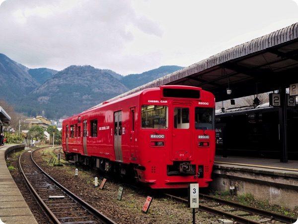 大分市を走る電車