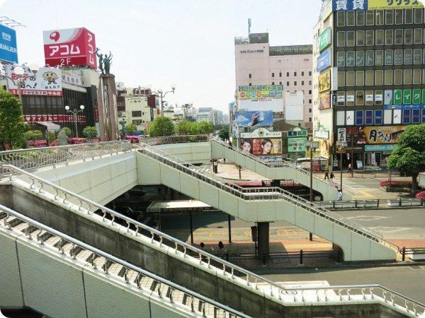 栃木県の中心部